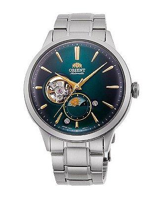 Relogio Orient Bambino Sun & Moon Limited Edition 70th Anniversary Automatico RA-AS0104E00B masculino
