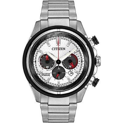 Relógio Citizen Eco drive Super Titanium masculino CA4240-58A / TZ30884Q