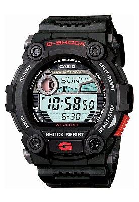 Relógio Casio G-shock Tábua De Maré G-7900-1dr RESCUE / RESGATE