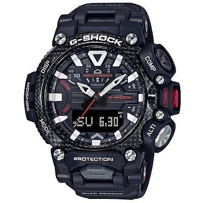 Relogio Casio G-SHOCK GR-B200-1ADR GravityMaster Carbon