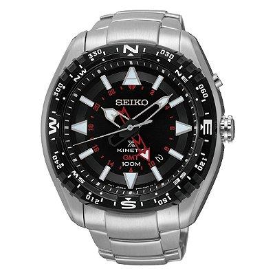 Relógio Seiko Kinetic Sun049b1 masculino
