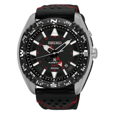 Relógio Seiko Kinetic Sun049b2 masculino