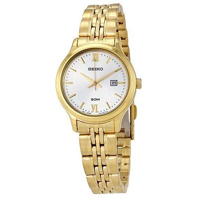 Relógio Seiko Quartz feminino SUR704B1