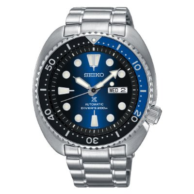 Relogio Seiko Prospex Turtle Deep Blue SRPC25B1