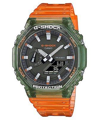 Relogio Casio G-shock Carbon Core Guard Ga-2100HC-4adr OAK  LIMITED EDITION HIDDEN COAST