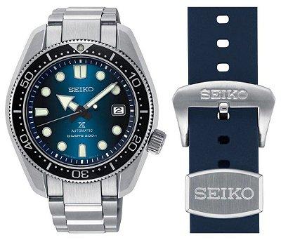 Relogio Seiko Prospex Baby MM Blue Hole SPB083J1 / SBDC065