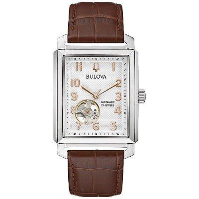 Relógio Bulova Sutton automatico 96A268 masculino