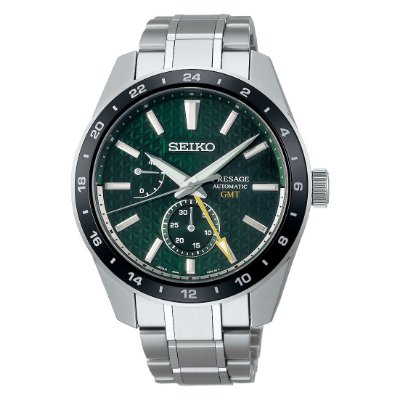 Relogio Seiko Presage Sharp Edged GMT Tokiwa Spb219j1 / Sarf003