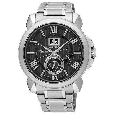 Relógio Seiko Premier Kinetic Perpetual SNP141P1
