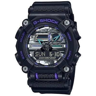 Relogio Casio G-SHOCK GA-900AS-1ADR Heavy Duty