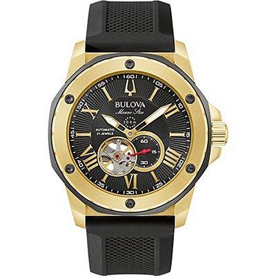 Relógio Bulova Marine Star automático 98A272 masculino
