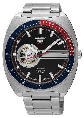 Relógio Seiko 5 Sports  Automático Recraft SSA329B1 PEPSI
