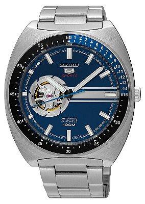 Relógio Seiko 5 Sports  Automático Recraft SSA327B1 Azul