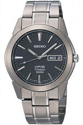 Relógio Seiko Quartz  SGG731B1 Titanium Safira Masculino