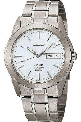 Relógio Seiko Quartz  SGG727B1 Titanium Safira Masculino