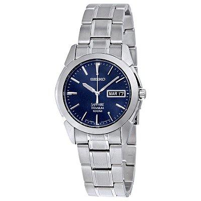 Relógio Seiko Quartz  SGG729B1 titanium safira