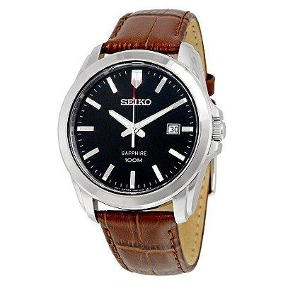 Relógio Seiko QUARTZ SGEH49B2 safira