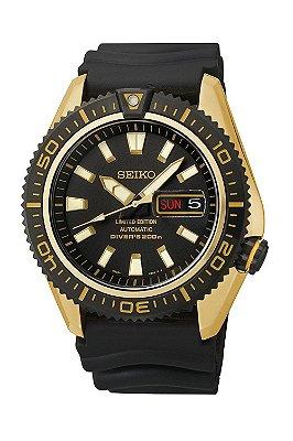 RELÓGIO SEIKO STARGATE GOLD AIR DIVER'S 200m  AUTOMÁTICO 4R36BI/8P *LIMITED EDITION*