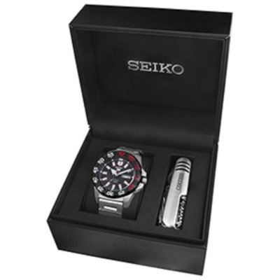Relogio Seiko 5 Sports Automático SRP487B1 MONSTER gift box