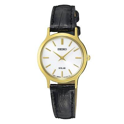 Relógio Seiko Solar feminino SUP300B1