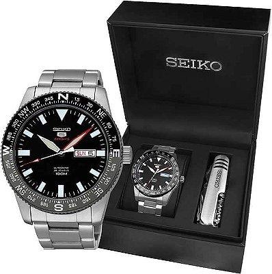 Relogio Seiko 5 SPORTS Automatico SRP669B1 Masculino