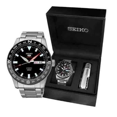 Relogio Seiko 5 Sports Automático masculino Srp669b1 gift box