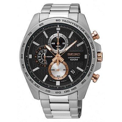 Relógio Seiko cronograph QUARTZ SSB281B1 masculino