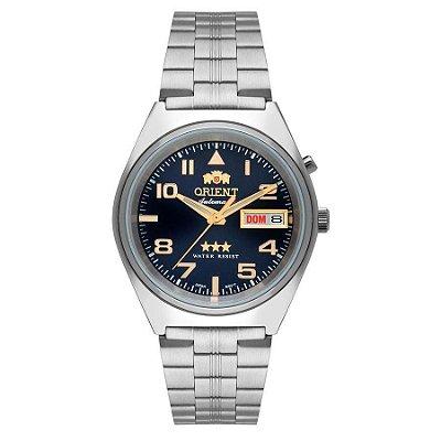 Relogio Orient Automatico 469SS083 d2sx masculino Azul