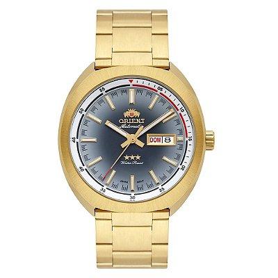 Relogio Orient Automatico 469GP082 g1kx masculino dourado