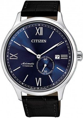 Relógio Automático Citizen Super Titanium Sunray Blue masculino NJ0090-21L / tz20840f