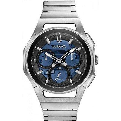 Relógio Bulova Curv Precisionist Quartz Masculino 96a205
