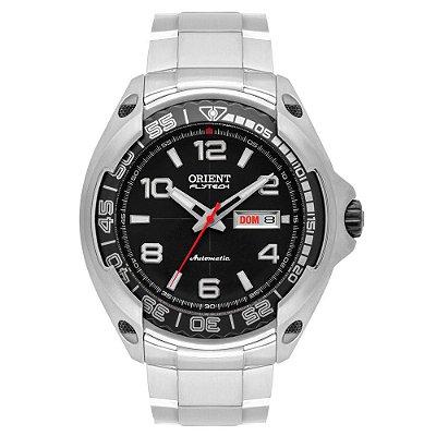 Relogio Orient Automatico 469ti005 masculino Flytech Titanium
