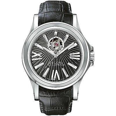 Relógio Bulova Accutron automático 63A111 / WB21838T masculino Swiss Made