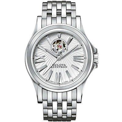 Relógio Bulova Accutron automático 63A102 / WB21838N masculino Swiss Made
