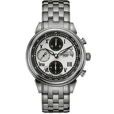 Relógio Bulova Accutron automático 63C008 / WB31121Q masculino Swiss Made