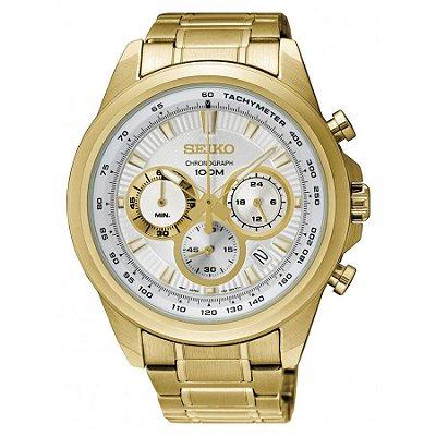 Relógio Seiko cronograph QUARTZ  SSB254B1 masculino
