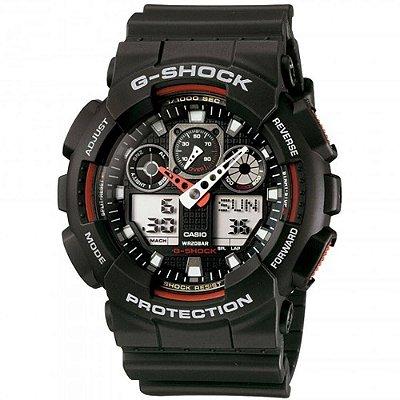 Relogio Casio G-SHOCK GA-100-1A4DR