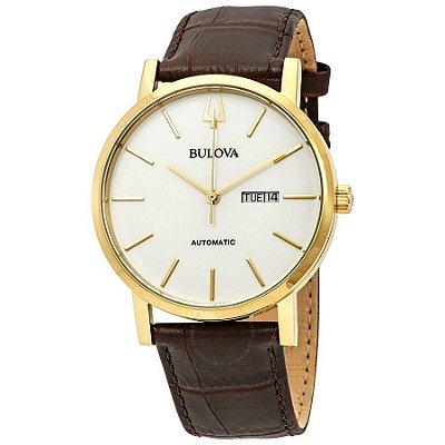 Relógio Bulova Classic automático 97C107 masculino
