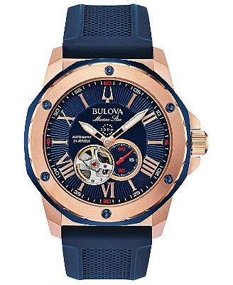 Relógio Bulova Marine Star automático 98A227 masculino