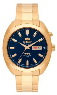 Relogio Orient Automatico 469gp077 masculino azul