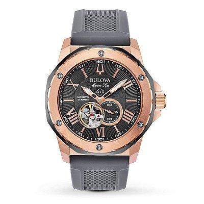 Relógio Bulova Marine Star automático 98A228 masculino