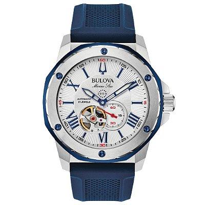 Relógio Bulova Marine Star automático 98A225 masculino