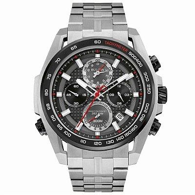 Relógio Bulova 300 Metros Masculino 98B270 Precisionist Quartz