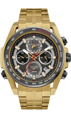 Relógio Bulova 300 Metros Masculino 98B271 Precisionist Quartz