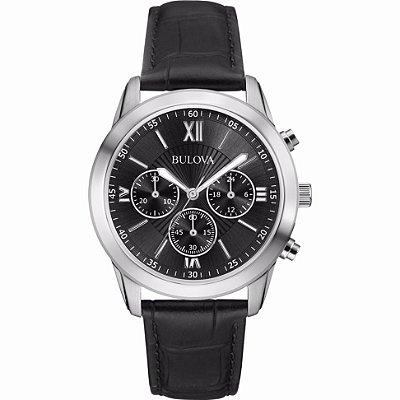 Relógio Bulova Dapper Quartz Masculino 96a173