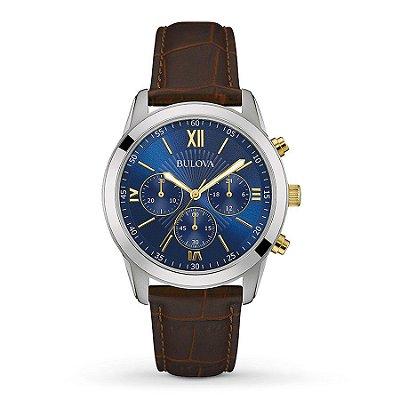 Relógio Bulova Dapper Quartz Masculino 98a151