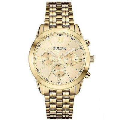 Relógio Bulova Dapper Quartz Masculino 97a128
