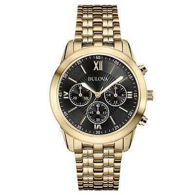 Relógio Bulova Dapper Quartz Masculino 97a129