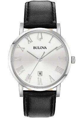 Relógio Bulova American Clipper Quartz 96b312 masculino