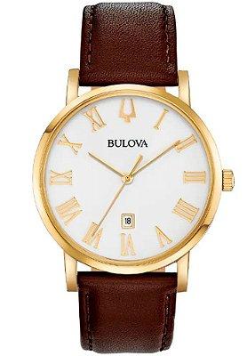 Relógio Bulova American Clipper Quartz 97b183 masculino